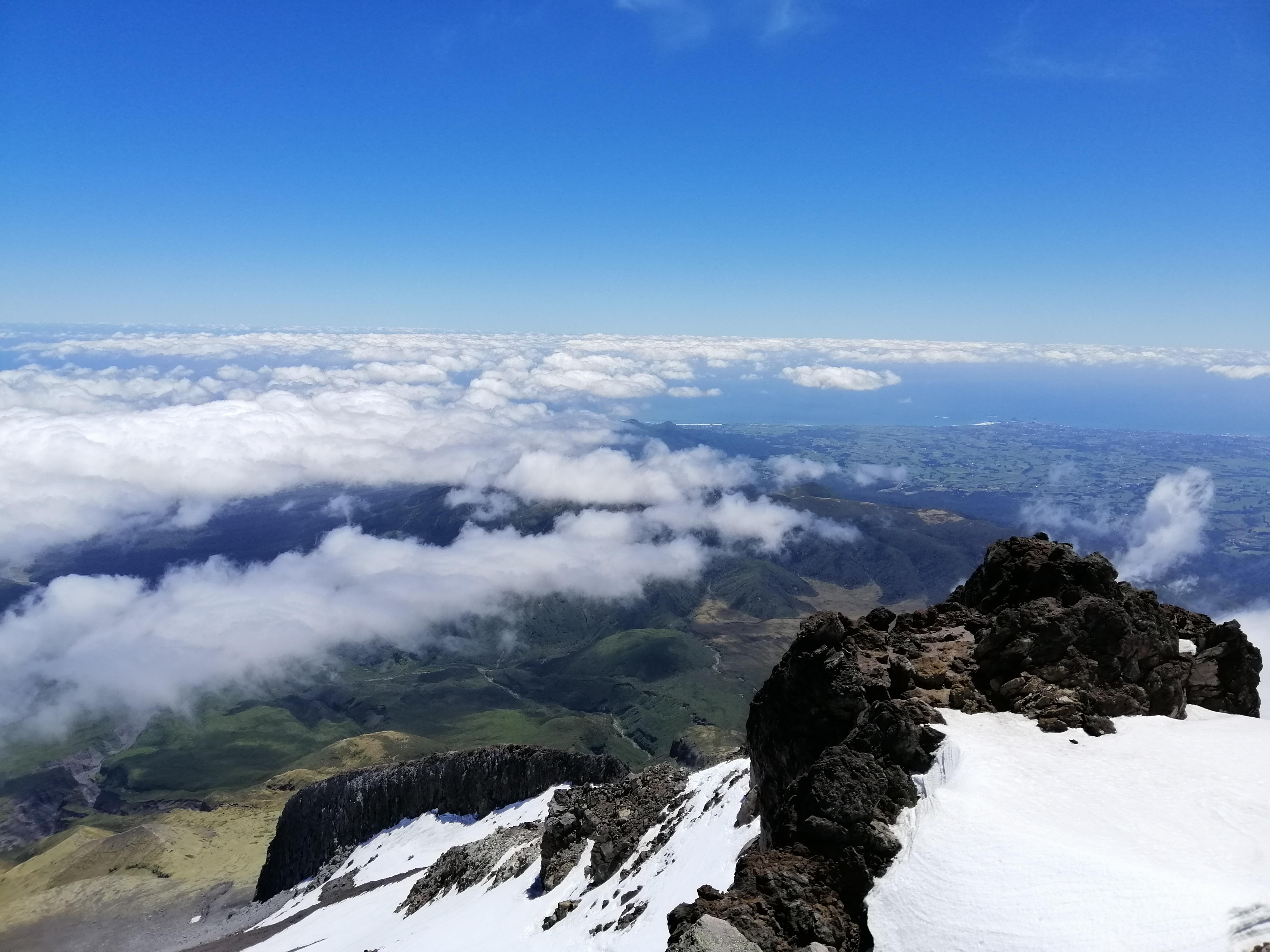 Climbing the Three T's: Taranaki, Tongariro & the Tararua's – Birds
